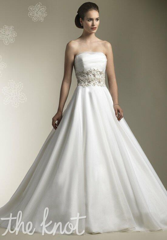 Justin alexander 8609 wedding dress the knot for The knot gift registry
