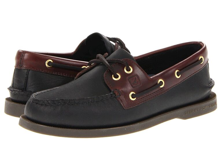 Boat shoes for beach wedding