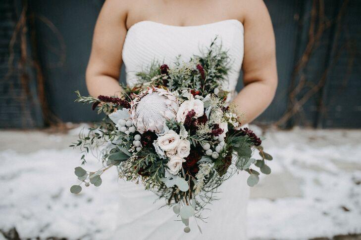 Winter Bride at at PAIKKA in St. Paul, Minnesota
