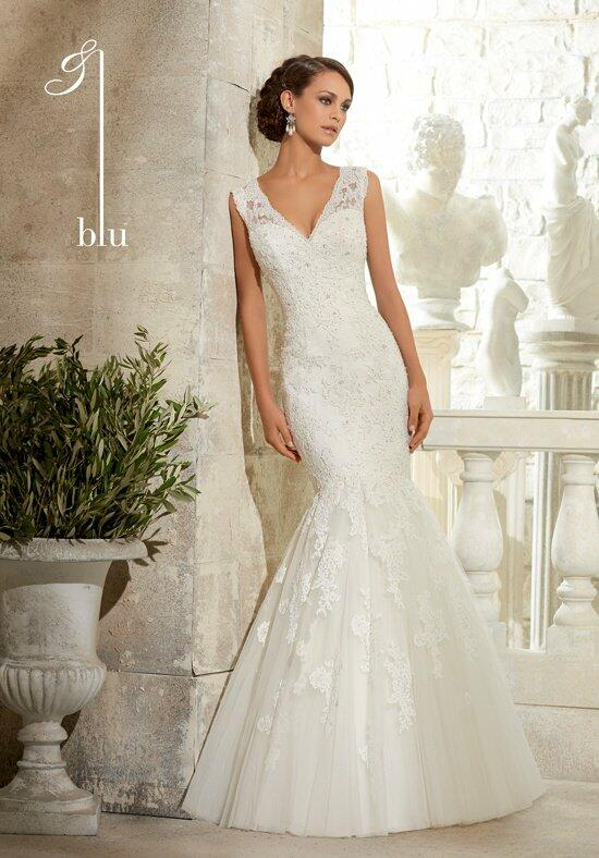 Blu by Madeline Gardner 5313 Wedding Dress photo