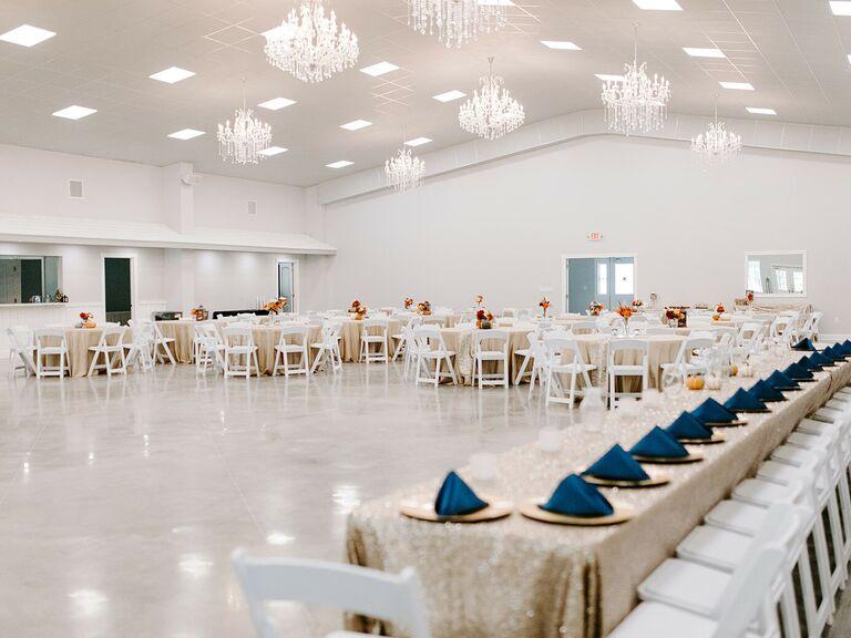 Wedding venue in Lubbock, Texas.