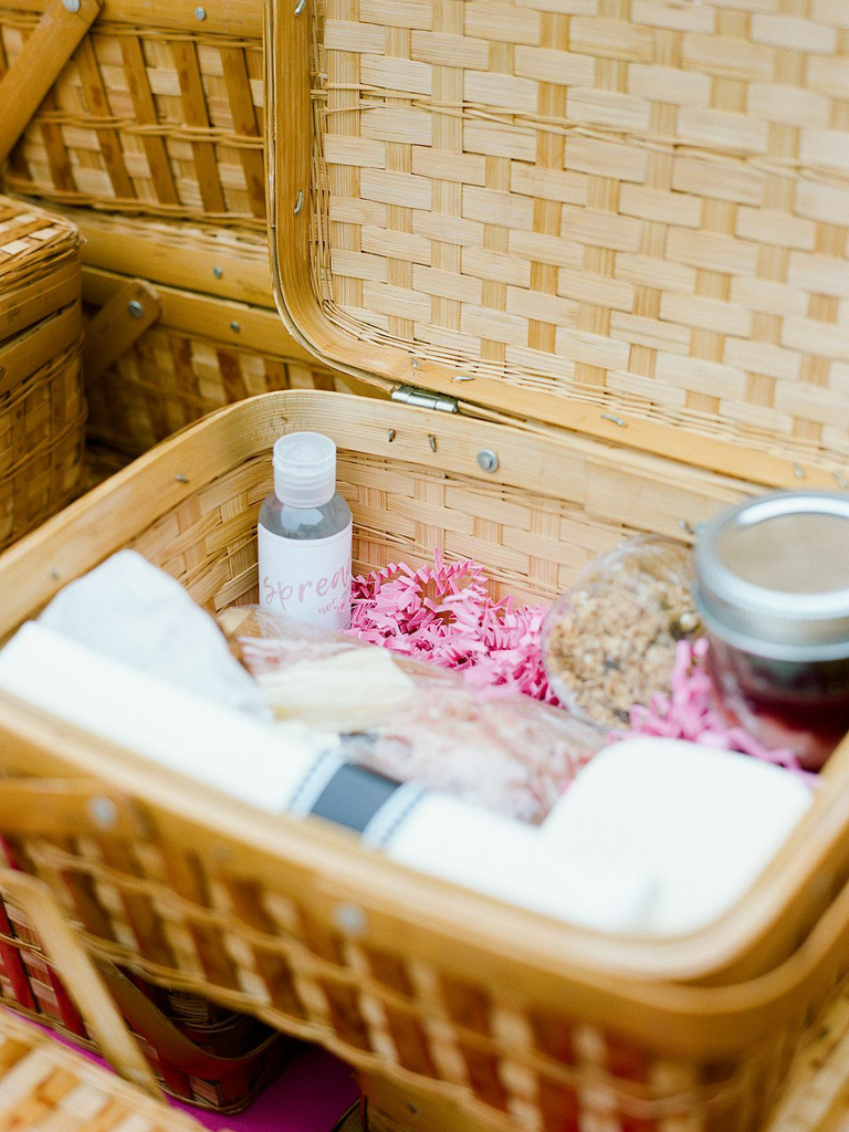 postwedding brunch picnic basket