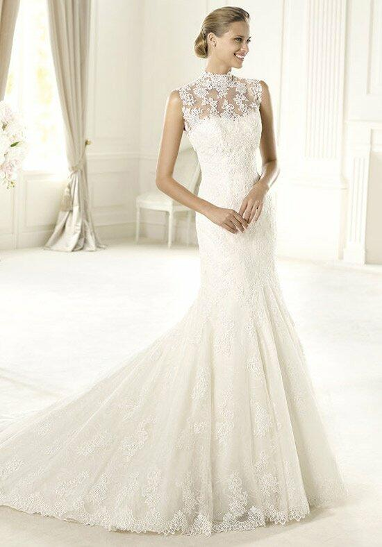 Pronovias urdiel wedding dress the knot for Wedding dresses the knot