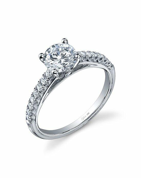 Sylvie Collection SY734 Engagement Ring photo