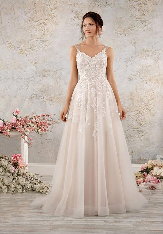 Alfred angelo modern vintage bridal collection wedding dresses for Modern vintage lace wedding dress