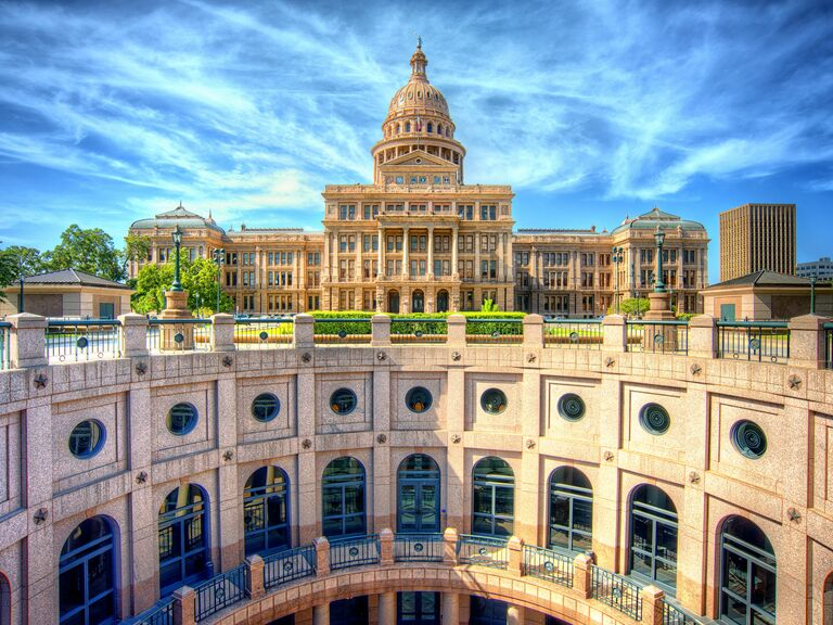 State capital building in Austin, Texas