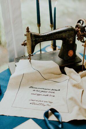 Sewing Machine Guest Book