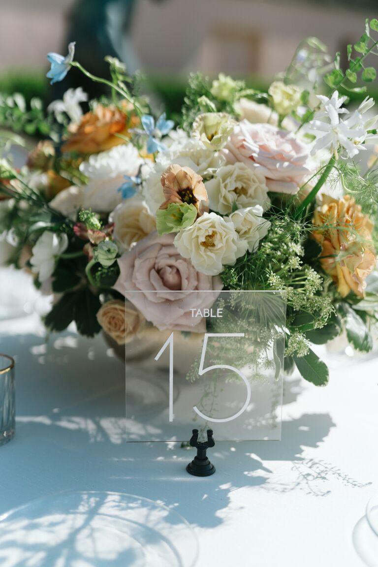caila quinn wedding flowers