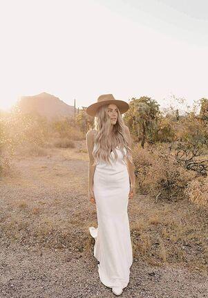 All Who Wander Sloan Sheath Wedding Dress