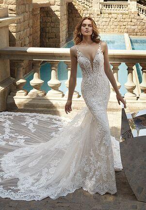 Demetrios 1150 Sheath Wedding Dress