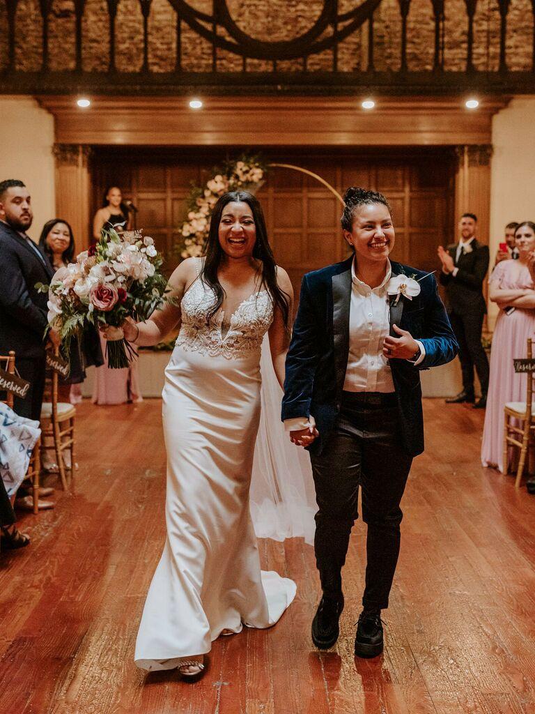 winter wedding ideas velvet suit