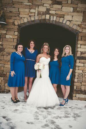 Kentucky Blue Bridesmaid Dresses