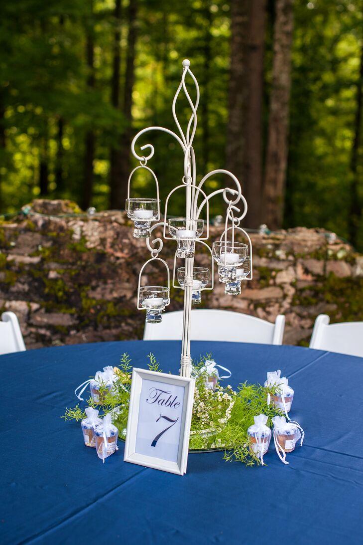 Garden-Inspired Reception Centerpieces