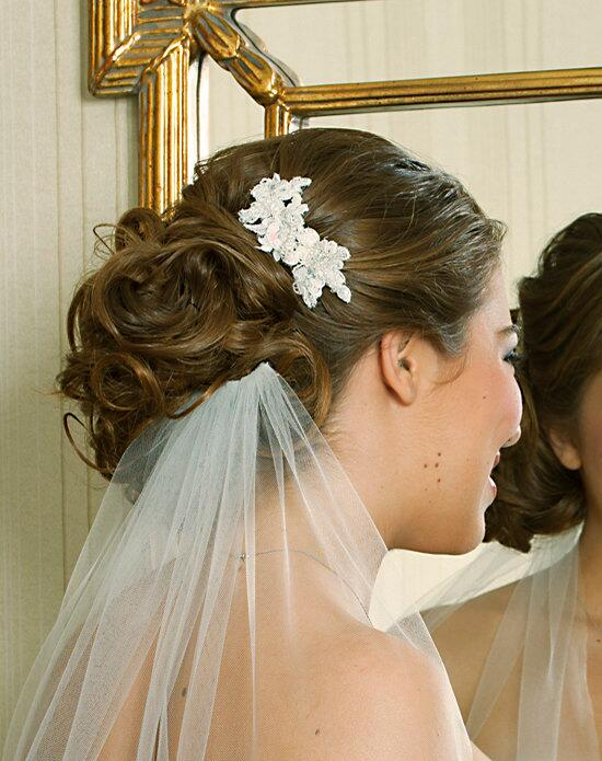 Alisa Brides Robin Lace Comb Wedding Pins, Combs + Clips photo