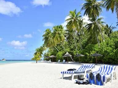 Honeymoon by a beach