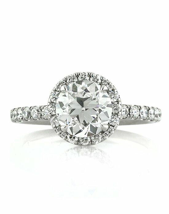 Mark Broumand 2.41ct Antique European Round Cut Diamond Engagement Ring Engagement Ring photo