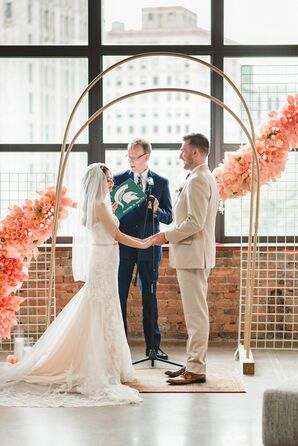 Wedding Ceremony at The Madison  in Detroit, Michigan