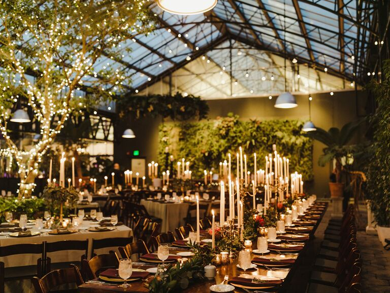 winter wedding ideas greenhouse