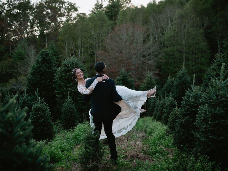 Mountain wedding venue in Cashiers, North Carolina.