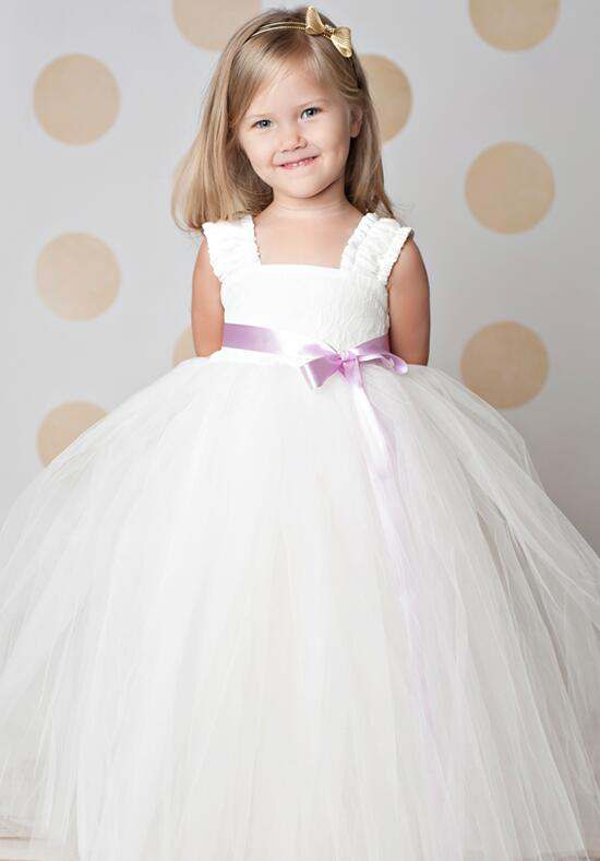 FATTIEPIE Elsa Ankle Flower Girl Dress photo