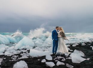 Brooke Jacobson and Patrick George whisked their closest family and friends off to Iceland for a one-of-a-kind celebration that paid tribute to the co