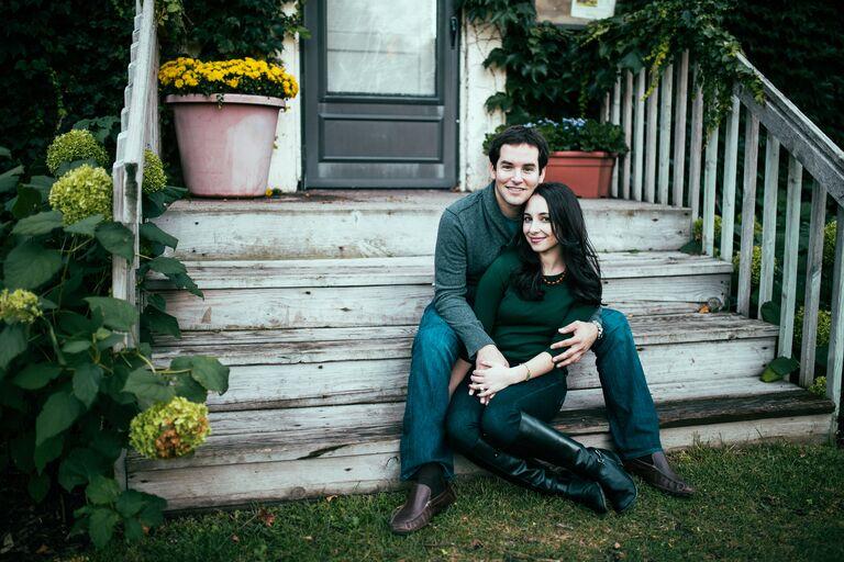 Rachel and Brad engagement photo Minneapolis, MN