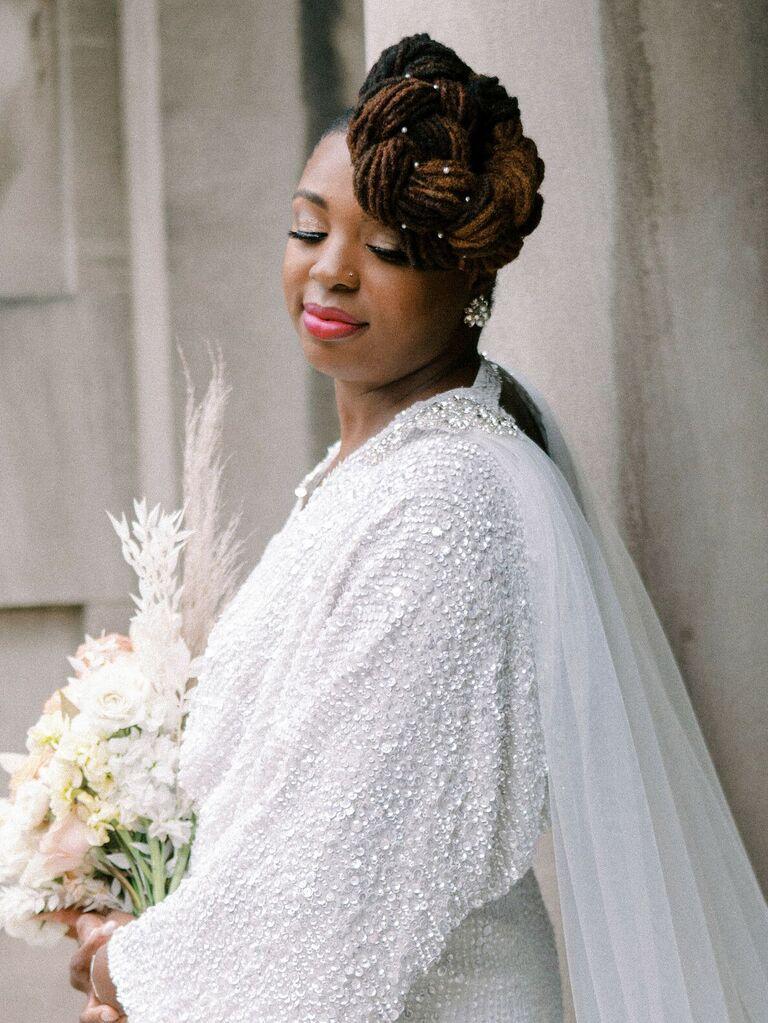 vintage wedding hairstyles top knot