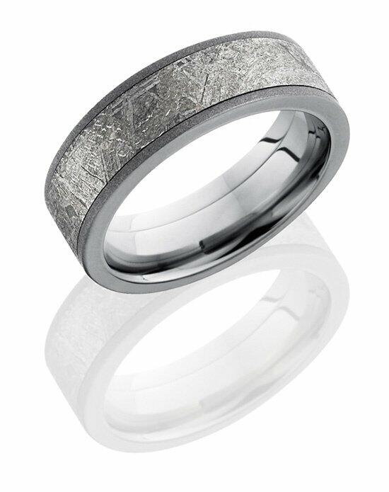 Lashbrook PF7F15/METEORITE Wedding Ring photo