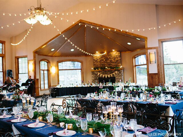 Wedding venue in Solitude, Utah.