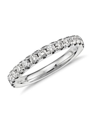 Blue Nile 33603 Platinum Wedding Ring