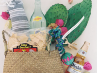 mexican-themed welcome gift