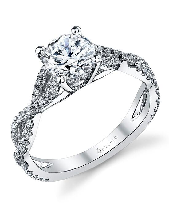 Sylvie Collection S1087 Engagement Ring photo