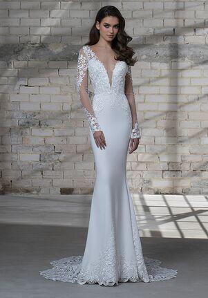 LOVE by Pnina Tornai for Kleinfeld 14673AXS Sheath Wedding Dress