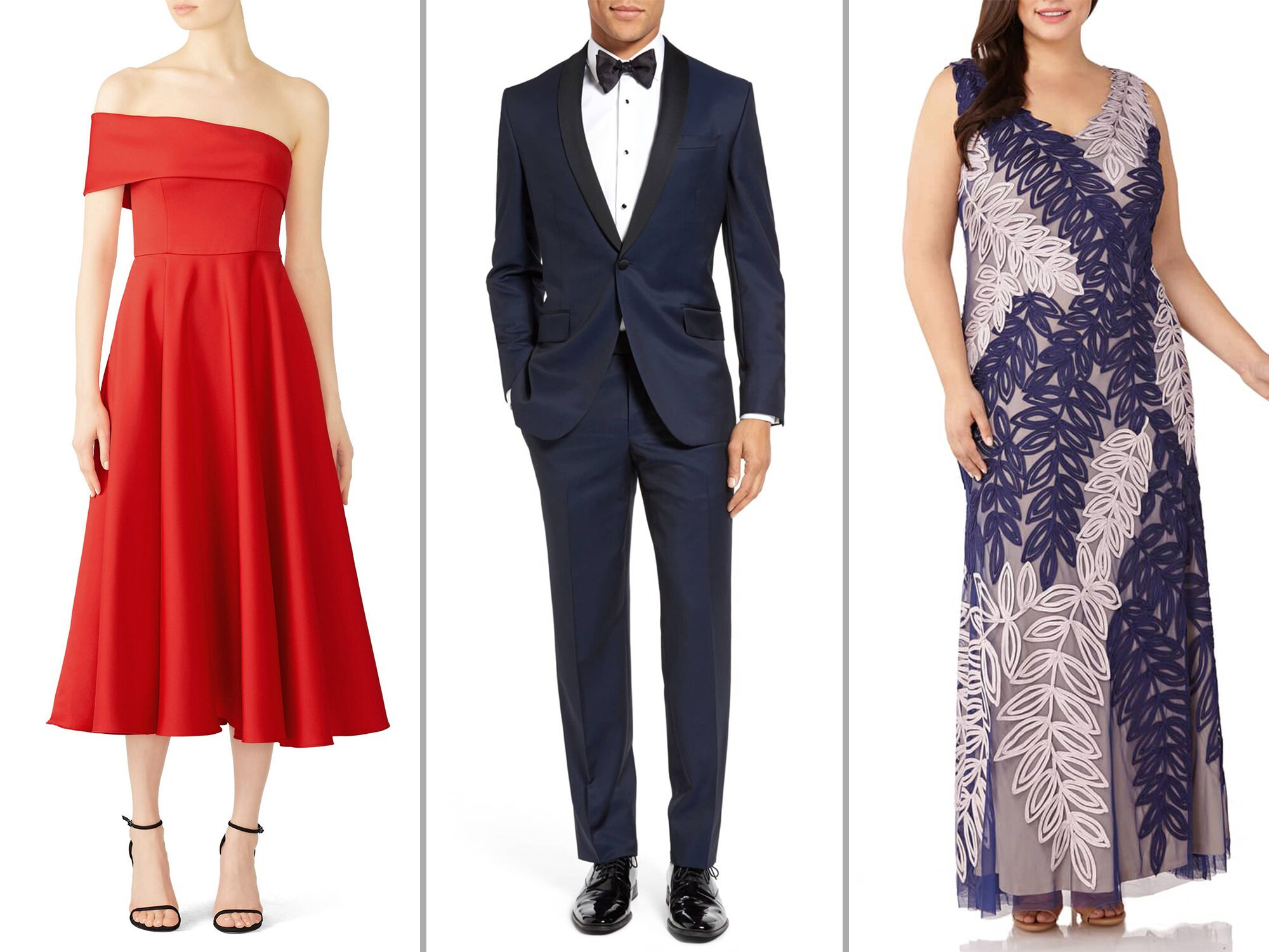 Formal Wedding Attire for Men and Women