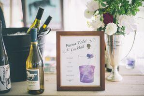 Parma Violet Signature Cocktail