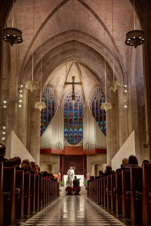 Traditional Church Ceremony at Cathedral of the Most Blessed Sacrament
