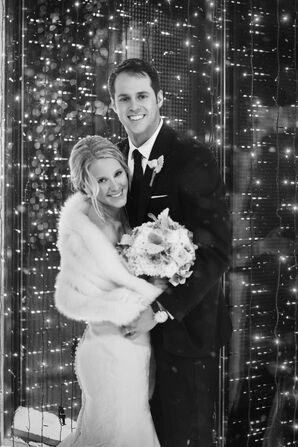 Michelle and Bryan's Glam Winter Wedding