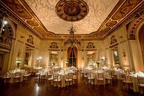 Glamorous Colony Club Wedding Reception