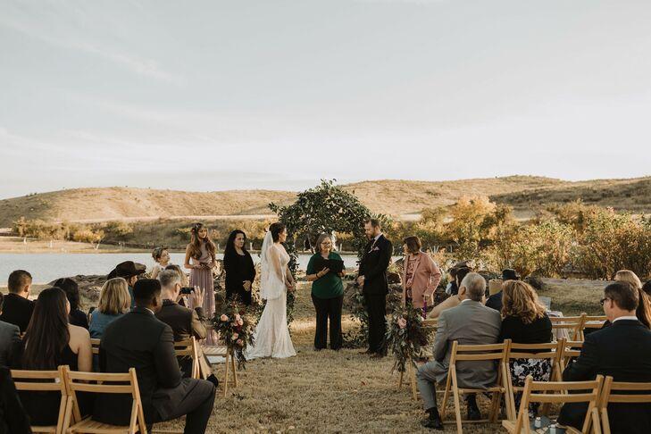 Desert Wedding Ceremony in Marfa, Texas