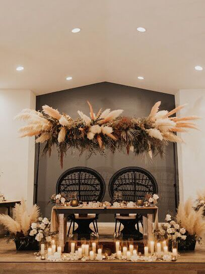 Wedding venue in Yucca Valley, California.