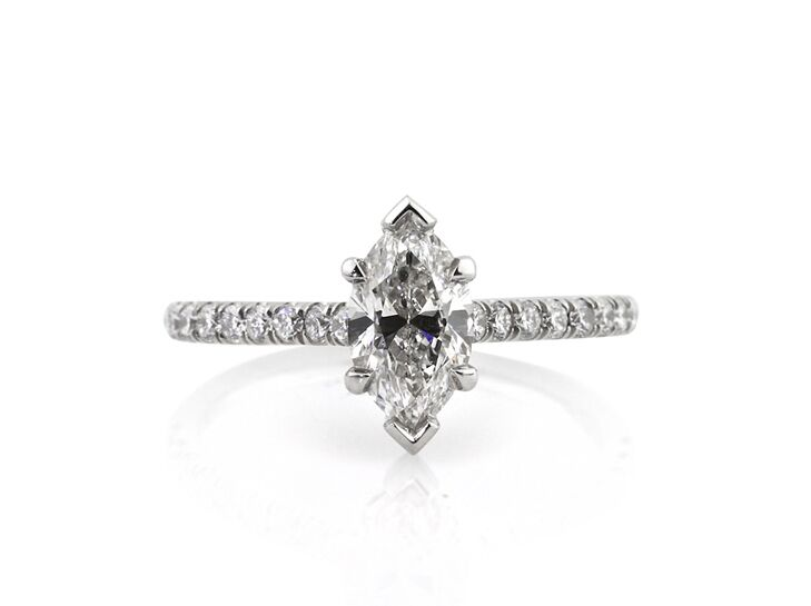 mark broumand marquise engagement ring