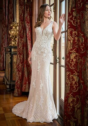 Jasmine Couture T222061U Sheath Wedding Dress