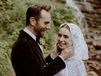 Lily Collins and husband Charlie McDowell