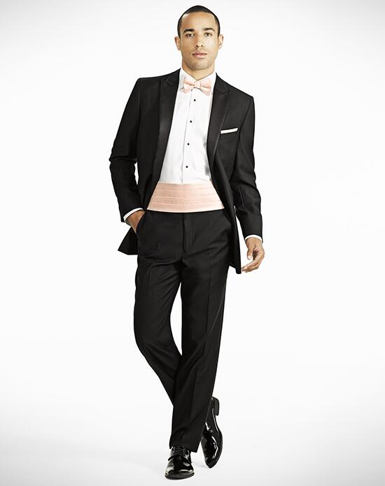 Generation Tux Peak Lapel Modern Fit Black Tux Wedding Tuxedos + Suit photo