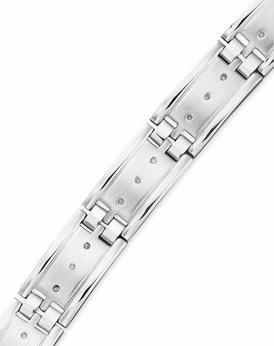 Macy's Fine Jewelry Men's Diamond Bracelet, Stainless Steel Diamond (1/4 ct. t.w.) Wedding Bracelets photo