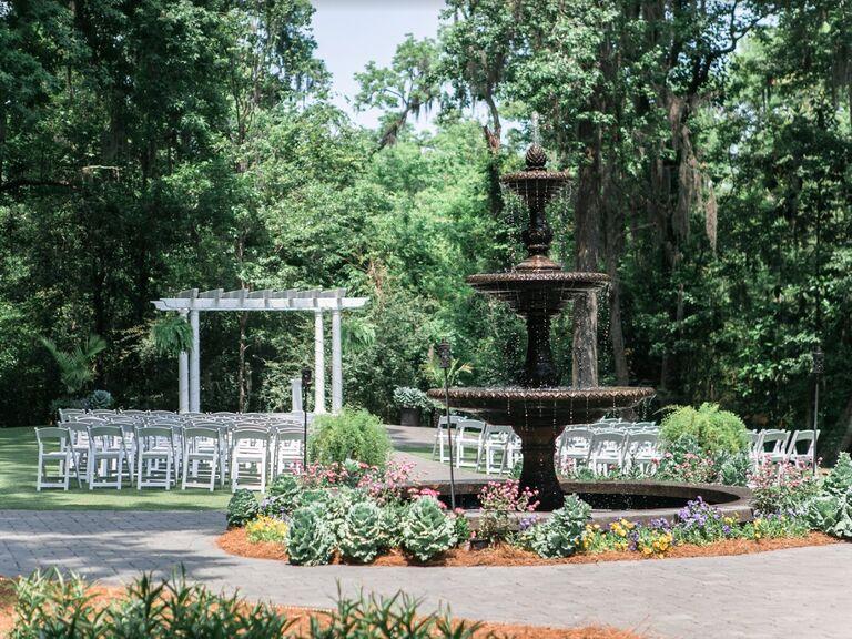Wedding venue in Savannah, Georgia.
