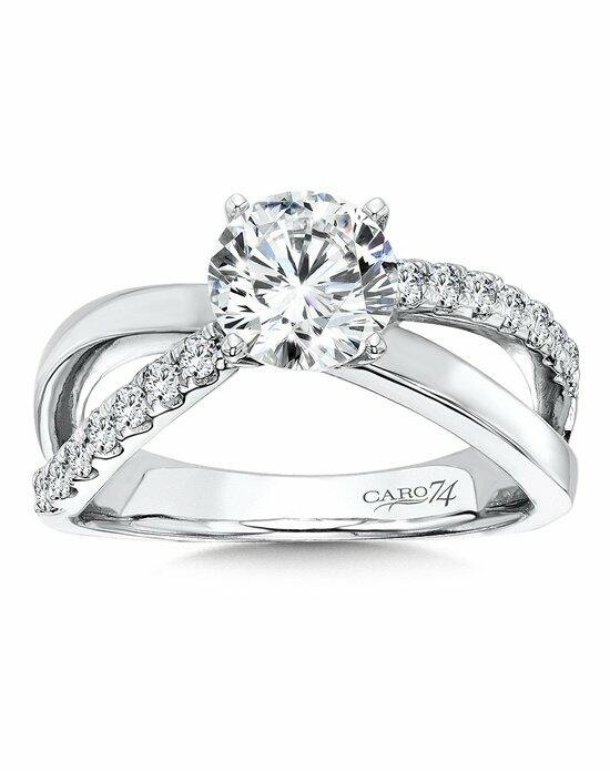 Caro 74 CR125W Engagement Ring photo