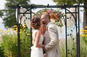John and Lori First Kiss
