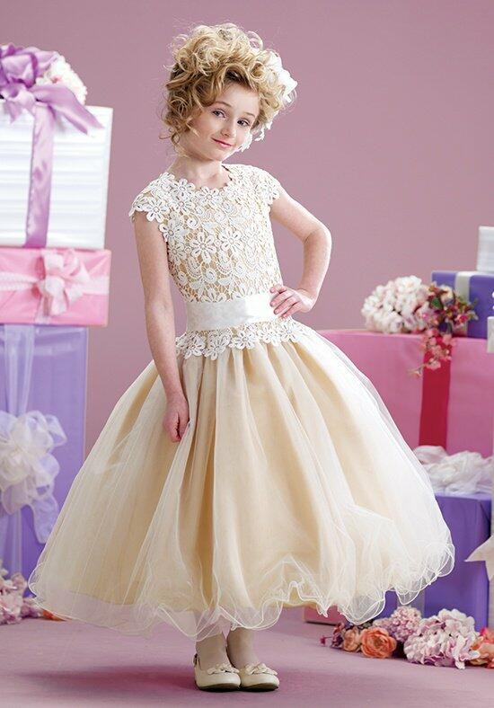 Joan Calabrese by Mon Cheri 215339 Flower Girl Dress photo