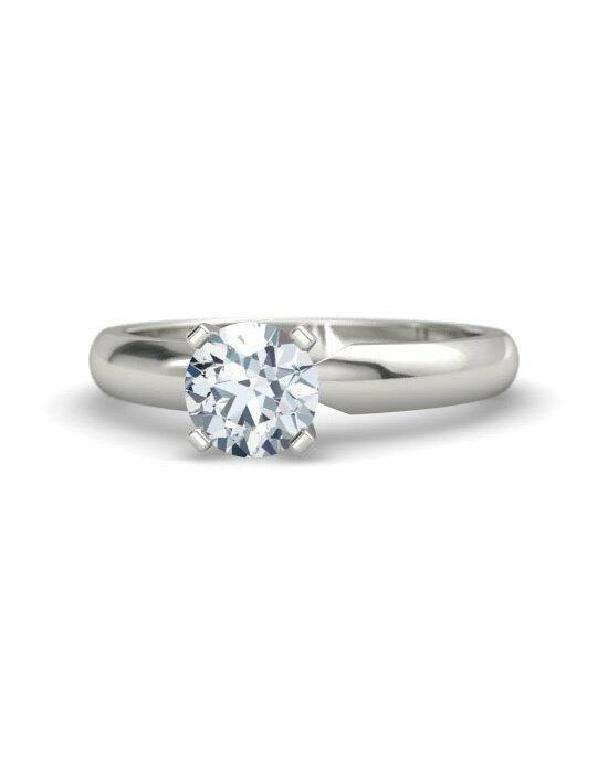 Gemvara - Customized Engagement Rings Round-Cut Ara Ring Engagement Ring photo